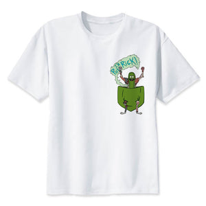 Rick And Morty Hip Hop Dabbing Fashion Pickle Rick Short Sleeve Unisex T-Shirts (Variety of Styles)
