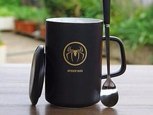 Modern Marvel Mugs with Spoon & Lid (Batman, Spiderman, Superman, Captain America, & More) 5