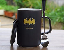 Modern Marvel Mugs with Spoon & Lid (Batman, Spiderman, Superman, Captain America, & More) 7\