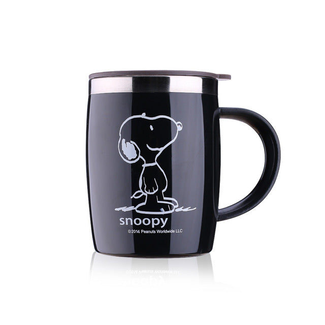 420mL Insulated Snoopy Tumbler Mug (with lid) 4