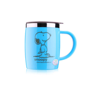 420mL Insulated Snoopy Tumbler Mug (with lid) 6