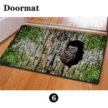 3D Non-Slip Animal & Nature Felt Mat 20