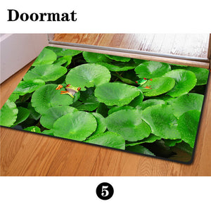 3D Non-Slip Animal & Nature Felt Mat 17