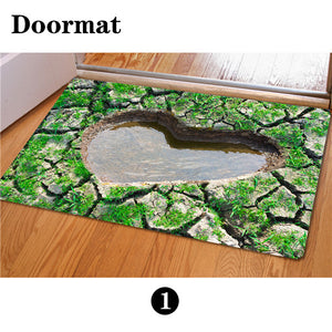 3D Non-Slip Animal & Nature Felt Mat 11