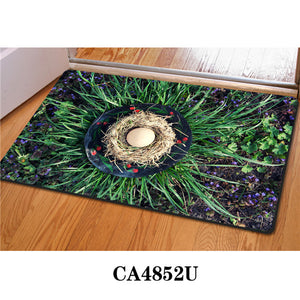3D Non-Slip Animal & Nature Felt Mat 14