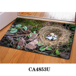 3D Non-Slip Animal & Nature Felt Mat 29