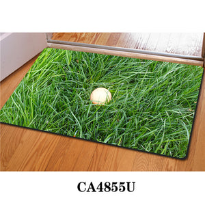 3D Non-Slip Animal & Nature Felt Mat 31