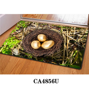 3D Non-Slip Animal & Nature Felt Mat 32