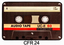 Nostalgic Retro Colorful Cassette Non-Slip Felt Mat (4 different styles, 2 sizes)