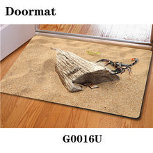 3D Non-Slip Animal & Nature Felt Mat 28