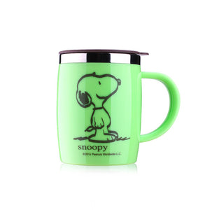 420mL Insulated Snoopy Tumbler Mug (with lid) 5