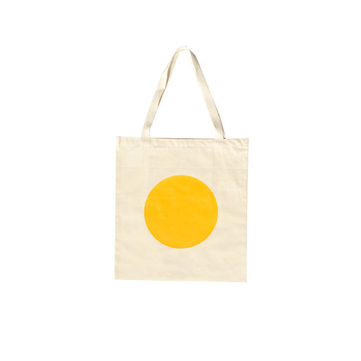 Sun Circle Tote Bag - Yellow