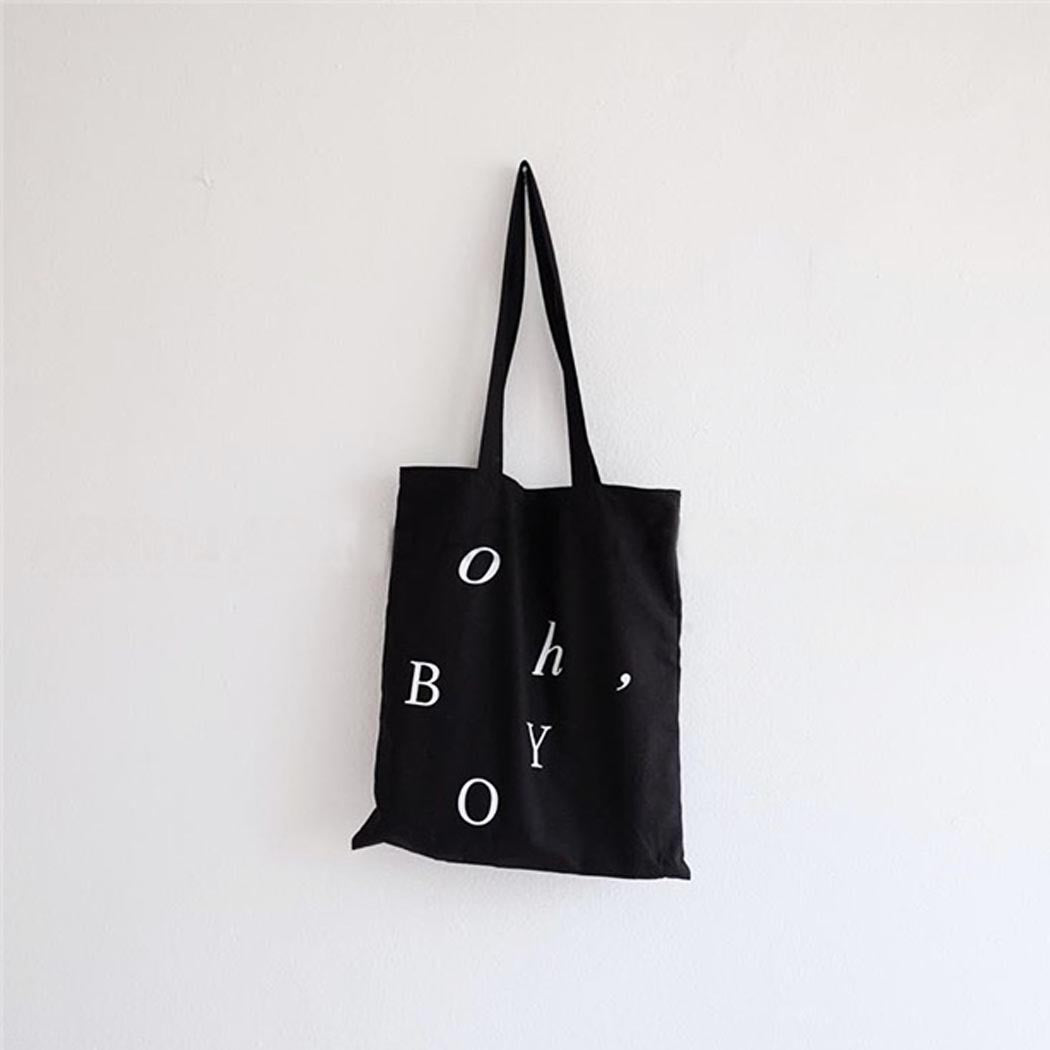 Oh Boy Graphic Tote Bag