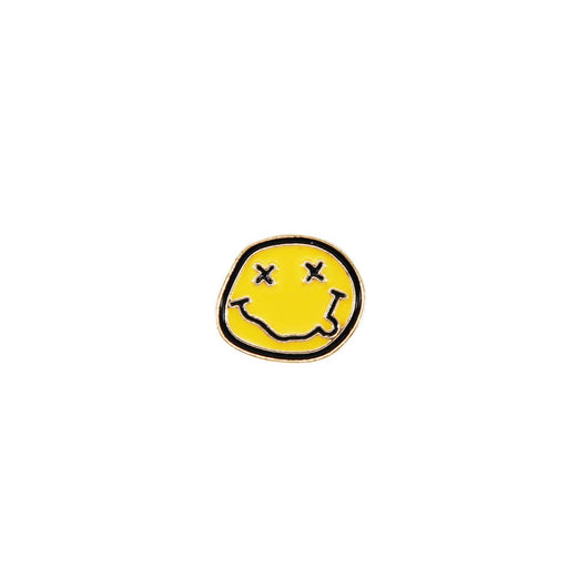 Smiley Face Enamel Pin