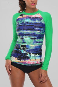 Women's Long Sleeve Rashguard