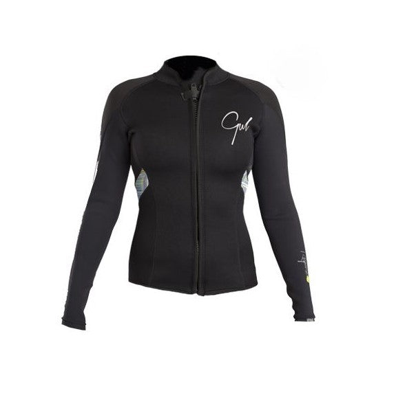 Gul Ladies 3mm Wetsuit Zip Jacket  RE6305