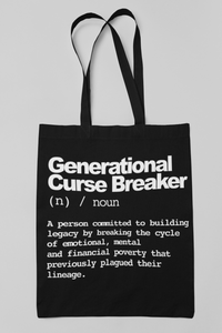 Generational Curse Breaker Tote Bag - My Business His Glory