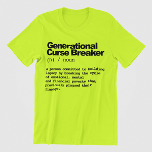 Generational Curse Breaker Neon - My Business His Glory