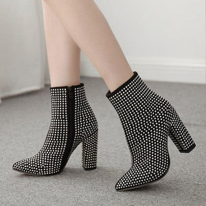 Side ZipperChunky Boots