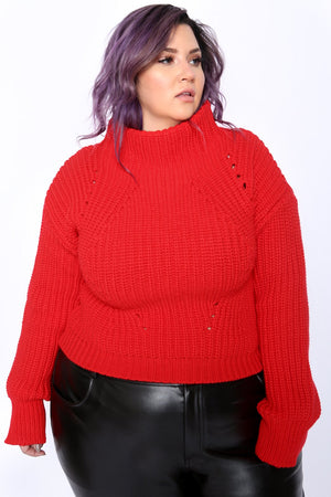Valentina Cropped Sweater