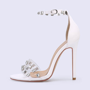 Stiletto Rhinestone Sandals