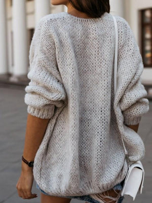 Loose Long Sleeve Sweater