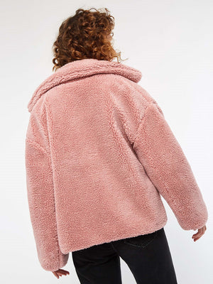 Single-Breasted Long Sleeve Jacket
