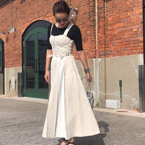 Sleeveless Summer Korean Dress