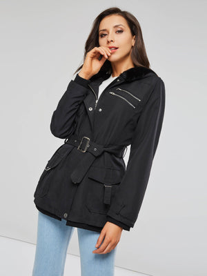Slim Zipper Long Sleeve Jacket