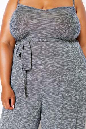 plus size leisure jumpsuit