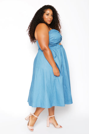 Palisades Chambray Dress