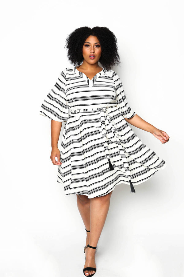 Georgina Striped Dress