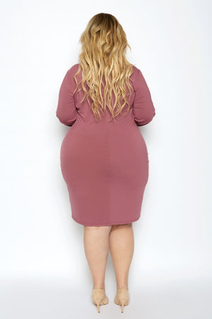 Essential Long Sleeve Bodycon Dress