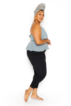 plus size crop top