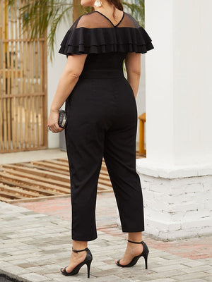 ANOI Ankle Length Jumpsuit