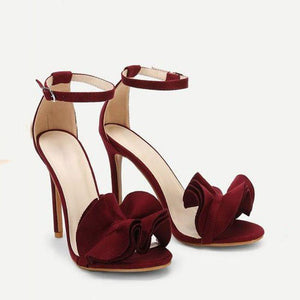 Covering Stiletto Line-Style Sandals