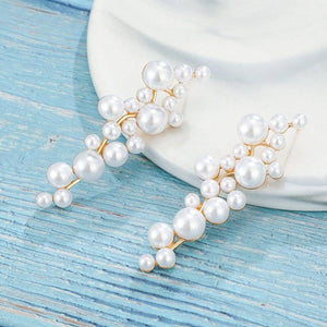 Sweet Pearl E-Plating Gift Earrings