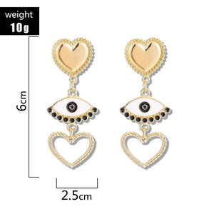 Alloy E-Plating Sweet Holiday Earrings