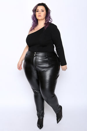 Nakano Faux Leather Leggings