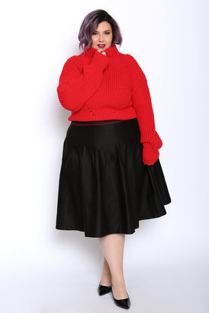 plus size mini skirt