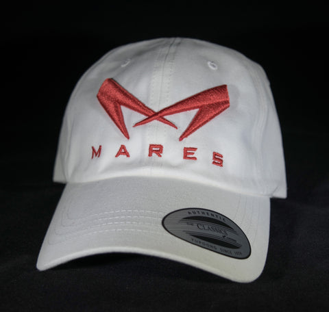 white Team mares Dad hats
