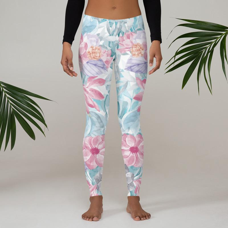 Blossom Yoga Leggings - LAMIVA.de