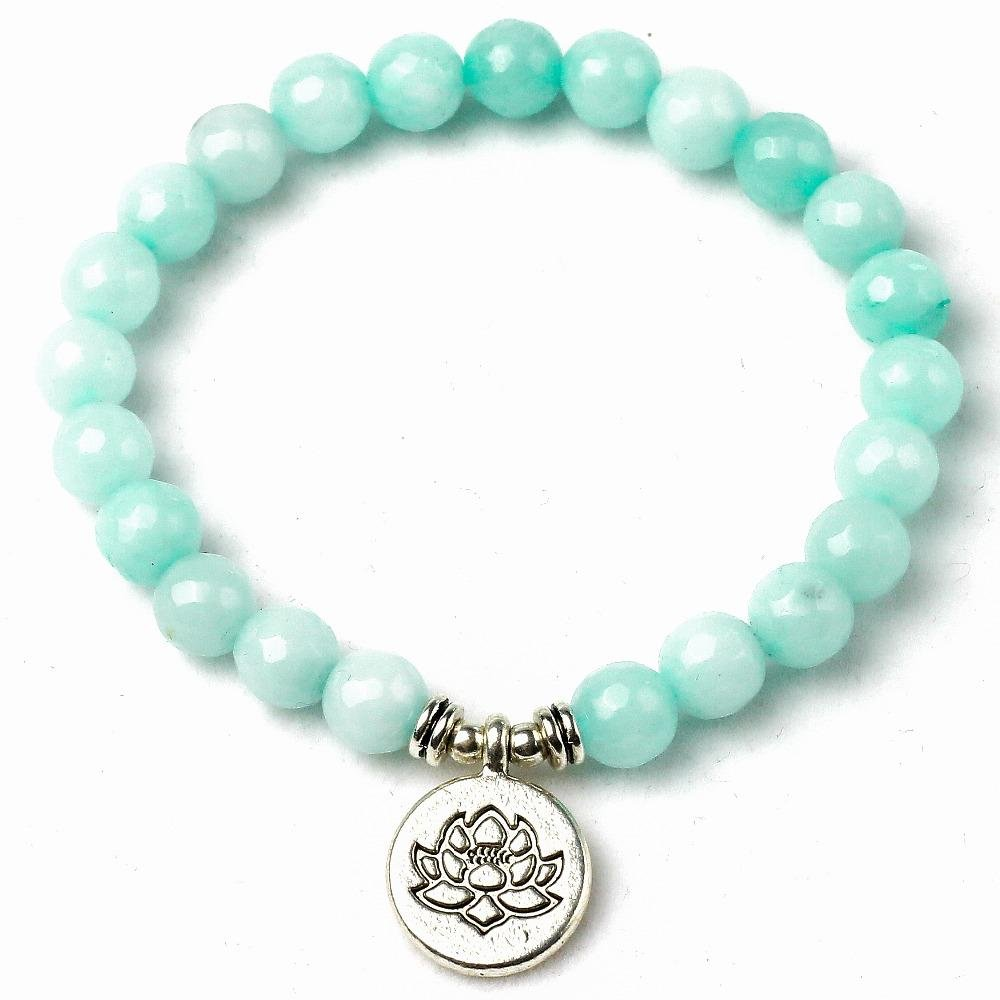 Glowing Lotus - Armband - LAMIVA.de
