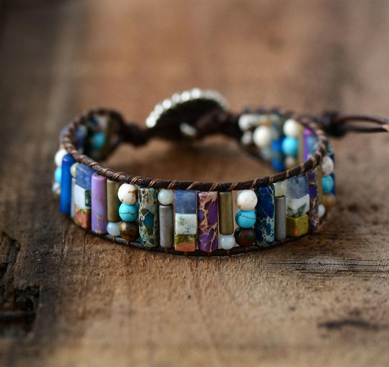 """Purple Positivity"" - Armband - LAMIVA.de"