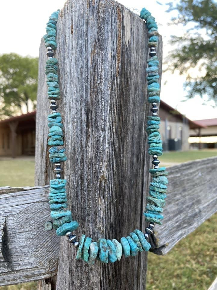 Turquoise Lovers Dream Chunky Necklace