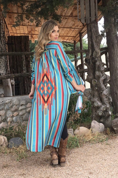 Serape Dreams Button Up
