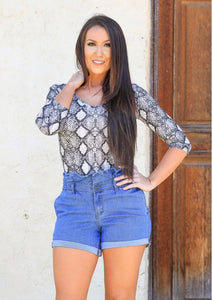 Sweet Summer Time Denim Shorts