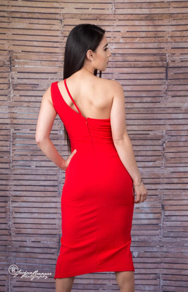 Aphrodite Red Dress