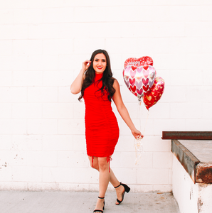 Be Mine Red Dress