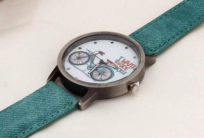 I Want To Ride My Bicycle Vintage Watch